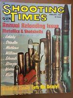 VINTAGE SHOOTING TIMES MAGAZINE - February 1967 - GERMAN GUNS of WWII