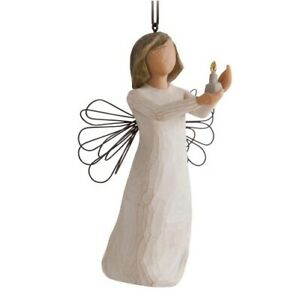 Willow Tree Angel of Hope Ornament Candle Hang or Stand Gift Christmas 27275