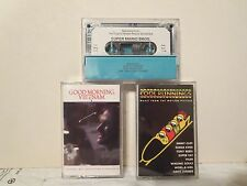 Good Morning, Vietnam, Cool Runnings and Super Mario Brothers (3 Cassettes)