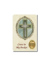 The Cross in my pocket with Gold foil medal