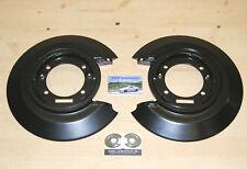 2 x Ankerblech hinten *NEU* für Opel Omega A Senator B Ankerplatten Paar Bleche