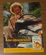Seltene Werbung CAMEL FILTER - Keine schmeckt besser #2 1979