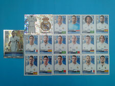 Topps Champions League 2016-17 2017 Team Real Madrid 2016 2017 completo