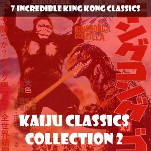 KAIJU CLASSICS 2 🎬 8 CLASSICS WITH KING KONG,  GODZILLA AND MECHANI-KONG ! 📽️