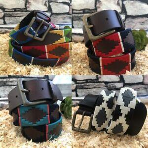Gaucho Polo Belt Argentinian Gaucho Premium Leather Handmade unisex Polo Belt UK