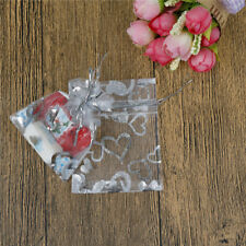 50PCS Organza Wedding Xmas Party Favor Gift Candy Bags Jewellery Pouches OV
