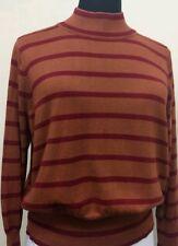 325a146a889 Women s 4X Melissa McCarthy Seven7 Turtleneck Brown Sweater B6