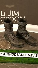 Hot Toys MMS182 TDK Batman Lt Gordon S.W.A.T 1/6 figure's tactical boots / shoes
