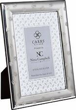 """CARRS - Sterling Silver Photo Frame Nina Campbell Bees - 7"""" x 5"""""""