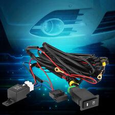 12V Universal Auto LED Nebelscheinwerfer Schalter Kabelsatz Sicherungsrelais Kit