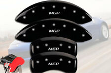 2006 2007 2008 350Z Front + Rear Black MGP Brake Disc Caliper Covers 4pc Set