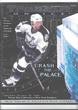 Tampa Bay Lightning Oct.20,1996 ICE Palace 1st Game Program,Autographed Tickets