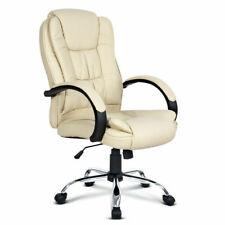 Artiss OCHAIR-G-9127-BG Executive Office Chair - Beige