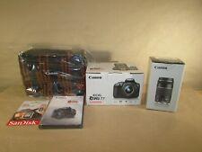 Canon EOS Rebel T7 24.1MP Digital SLR Camera Kit: F-S 18-55mm IS & 70-300mm Lens