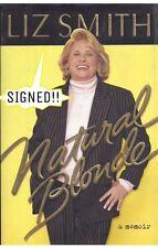 LIZ SMITH (TV & newspaper columnist) signed 1st ed. book 2000 Hard Cover w/DJ
