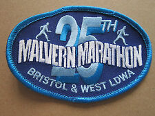 25th Malvern Marathon Bristol & West LDWA Walking Hiking Woven Cloth Patch Badge