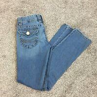 Aeropostale 796 Women's Bayla Skinny  Blue Jeans Size 3/4 Regular  Denim