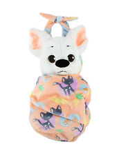 Disney Baby Bolt the Dog Puppy in a Blanket Pouch Plush Doll NEW