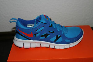 Nike Free Run 2 Children Women's Running Shoes Blue Red Size 38; 38,5 New
