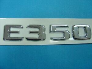 CHROME * E350 * TRUNK LETTER EMBLEM BADGE FOR MERCEDES BENZ E-CLASS AMG
