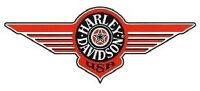 Aufkleber Fenster Harley Davidson Fat Boy Orange 19x8 Window Decal Windshield HD