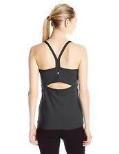 NWT Manduka Yoga Libertine Cami Camisole Tank Top in Black sz XL