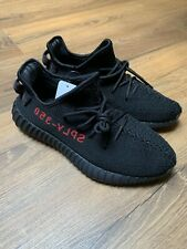 Adidas Yeezy Boost 350 v2 Black Red Bred UK 8