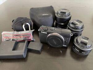 Canon EOS M100 24.2 MP Digital Camera + Lenses and accessories