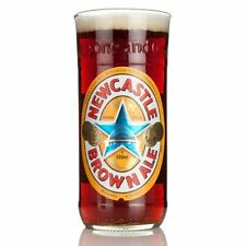 Single Newcastle Brown Ale Recycled Glass Bottle Novelty Pint Glass Boxed