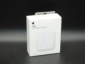 Apple 12W USB Power Adapter MD836LL/A  Authentic, NOB!!!