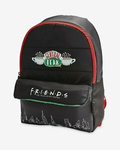 FRIENDS THE TV SHOW PUFFER STYLE BACKPACK BNWT IDEAL GIFT