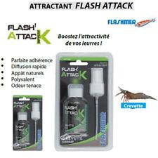 Attractant de peche Flashmer Flash Attack Spray Modèle Crevette