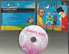 AQUA Barbie Girl 4TRX w/ EDIT & MIX & DUB & EXTENDED USA Limited CD single 1997