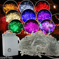 10M 100 LED Christmas Wedding Xmas Party Outdoor Decor Fairy String Light Lamps