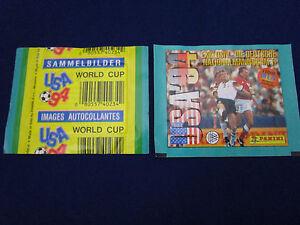 Panini WM WK WC 1994 USA 94, dt./German version, packet/Tüte/bustina, very good!