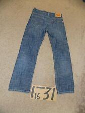 LEVIS 569 LOOSE-STRAIGHT BLUE DENIM JEANS 30X32 MEAS 31X31