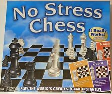 New No Stress Chess Board Game Learn Chess Easy For Kids and Adults- age 7+