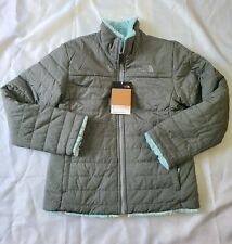 Girls North Face Reversible Jacket Size L