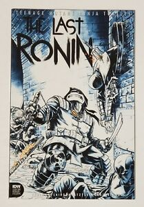 TMNT THE LAST RONIN #1 MIKE ROOTH WRAP AROUND VARIANT LTD 450 RARE EASTMAN NM+