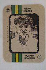 Don Bradman - ZeeNut Card - Aussie Heroes Series.
