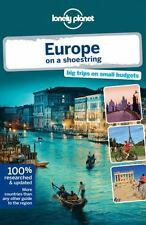 Lonely Planet Europe on a shoestring (Travel Guide)-ExLibrary