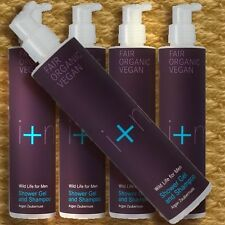 I+M Shower Gel and Shampoo Argan Zaubernuss WILD LIFE for Men 250ml
