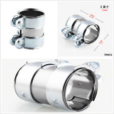 """2""""Stainless Steel Turbo Exhaust/Downpipe/Catback/Muffler Pipe Band/Flanges/Clamp"""