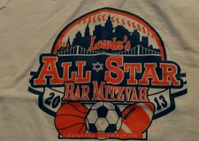 Lewin's All Star Bar Mitzvah T-Shirt New York Mets  Baseball Parody Youth Medium