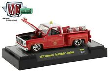 1:64 M2 Machines 1976 Chevrolet Scottsdale FIRE CHIEF TRUCK Hobby Ex HS06 *NIP*