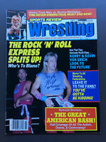 SPORTS REVIEW WRESTLING Magazine Nov 1988 The Rock 'N' Roll Express Cover