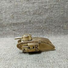 Vintage Petrol Lighter MK1 Male British Tank WW1 trench art paperweight