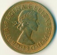 1966 FLORIN TWO SHILLINGS QUEEN ELIZABETH II. UNC WITH TONING  #WT11129