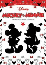 Art of Coloring: Art of Coloring: Mickey Mouse and Minnie Mouse: 100 Images to I