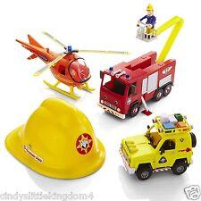 Fireman Sam rescue playset figures helmet helicopter Jupiter Engine vehicle